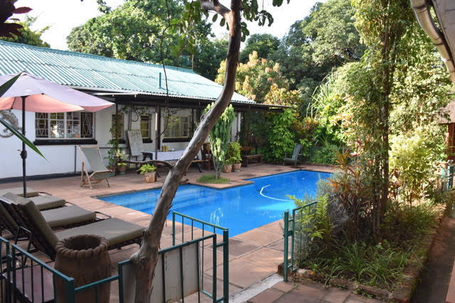 The pool at Tabonina Guesthouse
